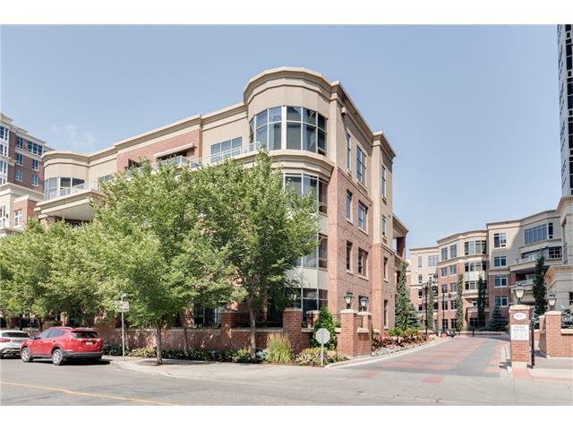 650 Eau Claire Avenue SW #203, Calgary, AB T2P 0L2 (#C4133714) :: Tonkinson Real Estate Team