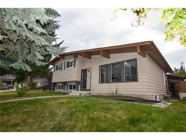 215 Queen Tamara Place SE, Calgary, AB T2J 4G2 (#C4134061) :: Tonkinson Real Estate Team