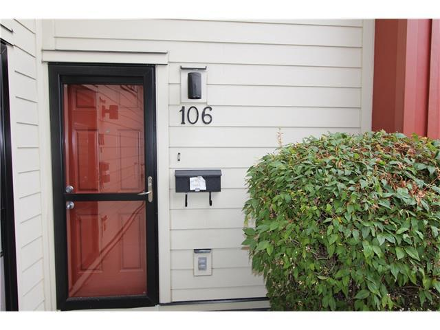 4740 Dalton Drive NW #106, Calgary, AB T3A 2H4 (#C4134111) :: Tonkinson Real Estate Team