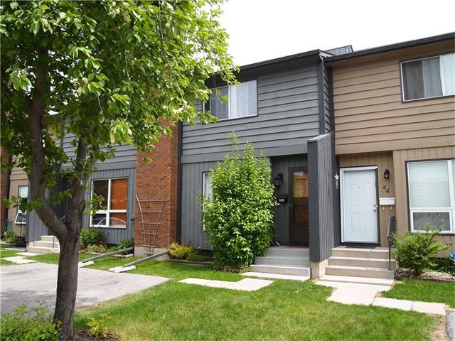 9908 Bonaventure Drive SE #45, Calgary, AB T2J 5E3 (#C4134127) :: Tonkinson Real Estate Team