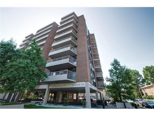 133 25 Avenue SW 5C, Calgary, AB T2S 0K8 (#C4134222) :: Tonkinson Real Estate Team