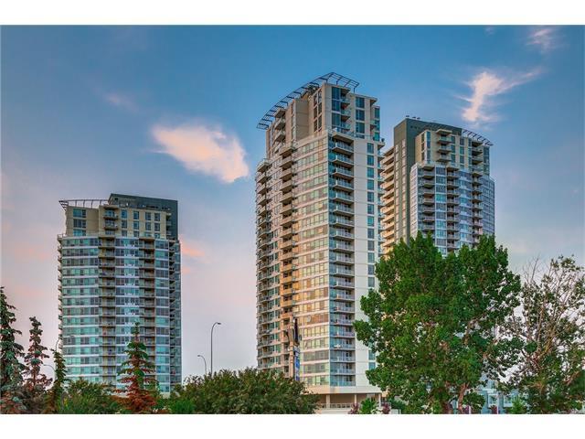 55 Spruce Place SW #908, Calgary, AB T3C 3X5 (#C4136309) :: Redline Real Estate Group Inc