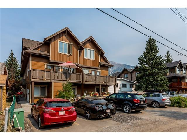 813 7th Street #4, Canmore, AB T1W 2C4 (#C4136329) :: Canmore & Banff