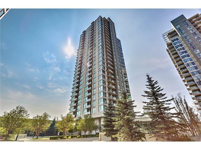 77 Spruce Place SW #1006, Calgary, AB T2P 1A6 (#C4136692) :: Redline Real Estate Group Inc
