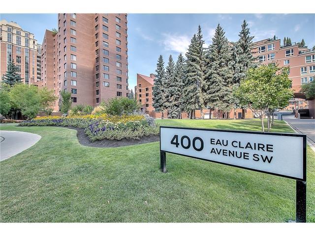 400 Eau Claire Avenue SW #5203, Calgary, AB T2P 4X2 (#C4137387) :: Redline Real Estate Group Inc