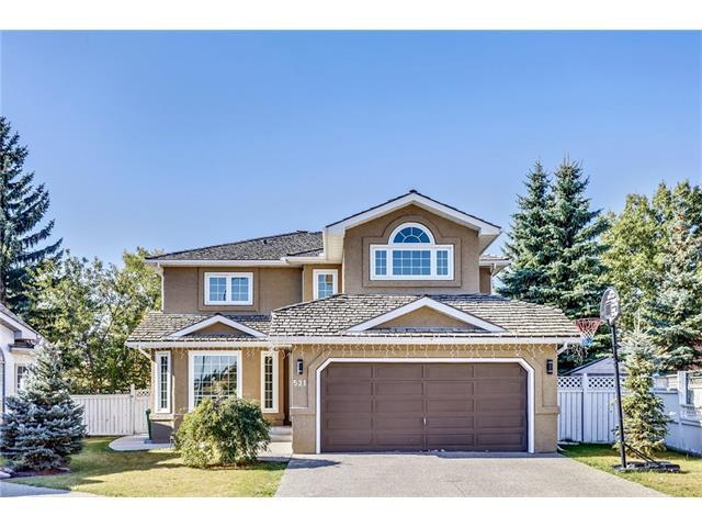 521 Country Hills Court NW, Calgary, AB T3K 3Z3 (#C4139505) :: The Cliff Stevenson Group