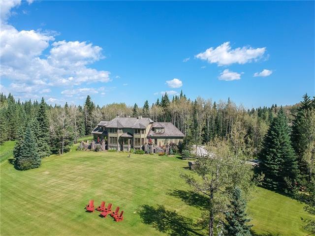 234133 Range Rd 52, Bragg Creek, AB T0L 0K0 (#C4140268) :: Redline Real Estate Group Inc