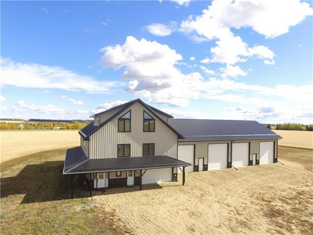 3525 Simpson Road, Rural Ponoka County, AB T0C 0M0 (#C4140891) :: Canmore & Banff
