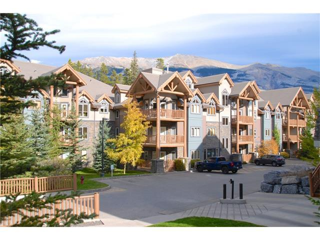 175 Crossbow Place #219, Canmore, AB T1W 3H7 (#C4141438) :: Canmore & Banff