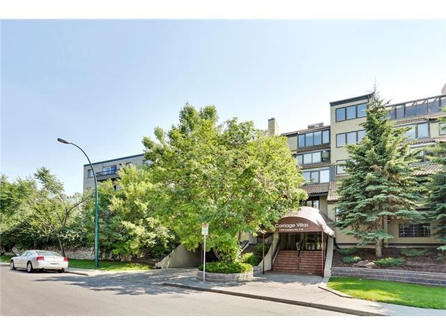 1229 Cameron Avenue SW #402, Calgary, AB T2T 0L1 (#C4141996) :: Tonkinson Real Estate Team