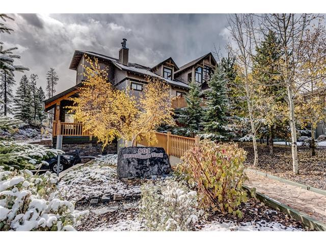 801 Benchlands Trail #104, Canmore, AB T1W 0B6 (#C4142115) :: Canmore & Banff