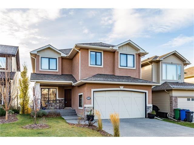 67 Sunset Point(E), Cochrane, AB T4C 0B4 (#C4142145) :: Tonkinson Real Estate Team