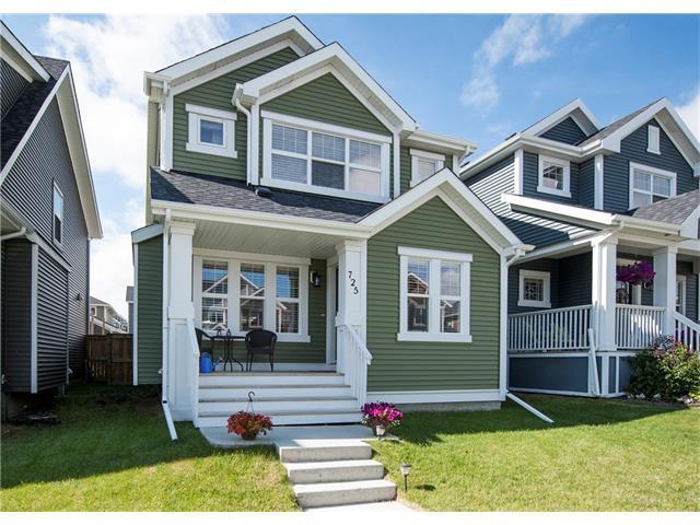 725 River Heights Crescent, Cochrane, AB T4C 0R8 (#C4142304) :: Tonkinson Real Estate Team