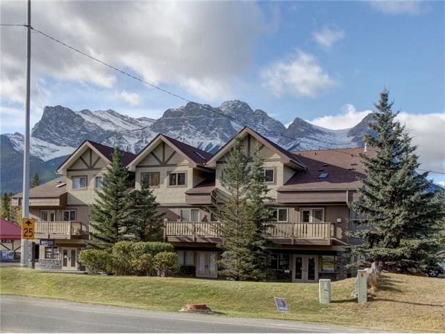 512 Bow Valley Trail #202, Canmore, AB T1W 1N9 (#C4142891) :: Canmore & Banff