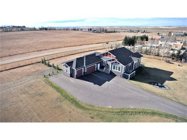 263047 Rge Rd 293, Rural Rocky View County, AB T4A 0N4 (#C4143242) :: The Cliff Stevenson Group
