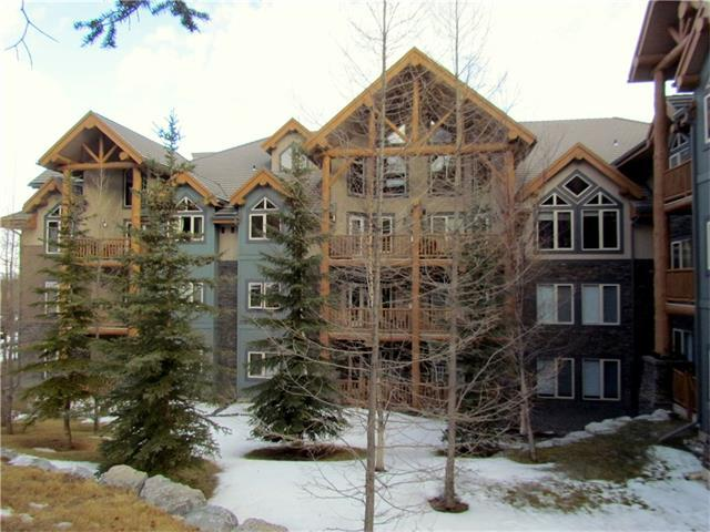 155 Crossbow Place Place #214, Canmore, AB T1W 3H6 (#C4144148) :: Canmore & Banff