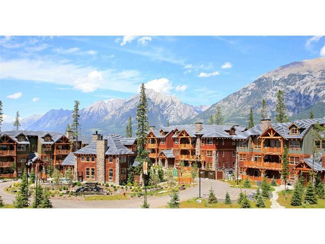 104 Armstrong Place #233, Canmore, AB T1W 3L5 (#C4144151) :: Canmore & Banff