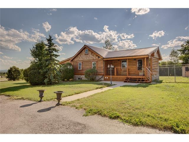 32122 Springbank Road, Rural Rocky View County, AB T3Z 2L9 (#C4144543) :: The Cliff Stevenson Group
