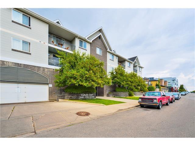 2440 34 Avenue SW #208, Calgary, AB T2T 2C8 (#C4144679) :: Redline Real Estate Group Inc