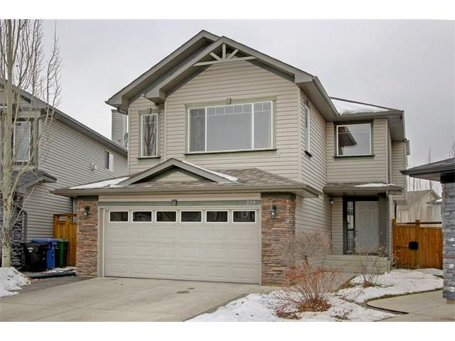 209 Cranfield Manor SE, Calgary, AB T3M 1K6 (#C4144824) :: The Cliff Stevenson Group