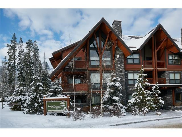 2100A Stewart Creek Drive #102, Canmore, AB T1W 0G3 (#C4144843) :: Canmore & Banff