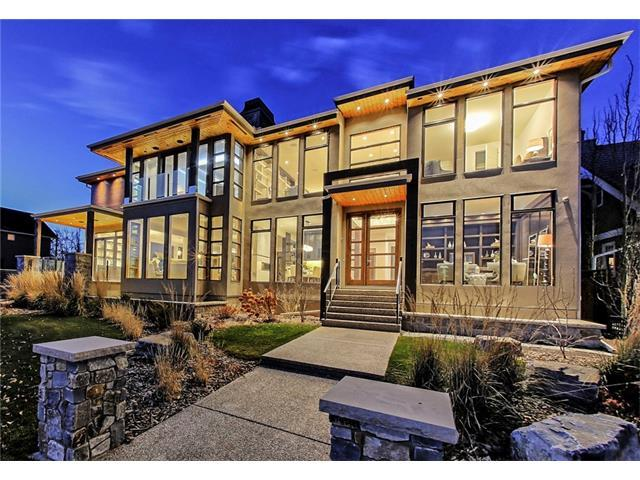 616 Crescent Road NW, Calgary, AB T2M 4A6 (#C4144879) :: The Cliff Stevenson Group
