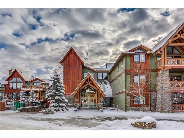 106 Stewart Creek Landing #217, Canmore, AB T1W 0G6 (#C4145526) :: Canmore & Banff
