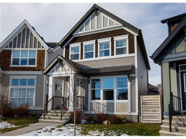 68 New Brighton Grove SE, Calgary, AB T2Z 1G4 (#C4145819) :: The Cliff Stevenson Group
