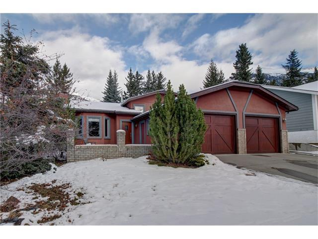 161 Coyote Way, Canmore, AB T1W 1C4 (#C4145934) :: Redline Real Estate Group Inc