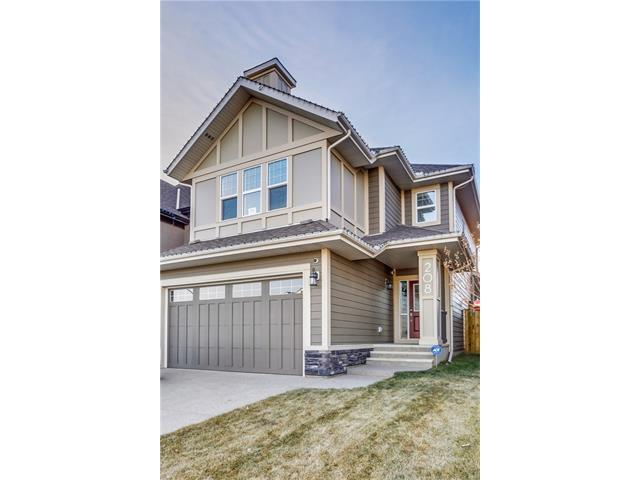 208 Mahogany Parade SE, Calgary, AB T3M 2J9 (#C4147086) :: Tonkinson Real Estate Team