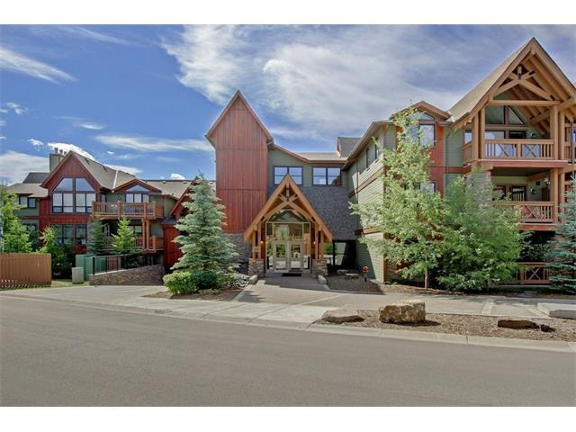 106 Stewart Creek Landing #110, Canmore, AB T1W 0G6 (#C4147268) :: Canmore & Banff
