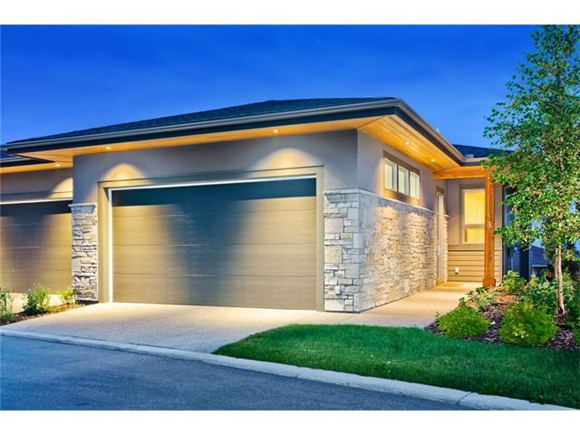 3 Watermark Villa(S), Rural Rocky View County, AB T3L 0E2 (#C4147535) :: The Cliff Stevenson Group