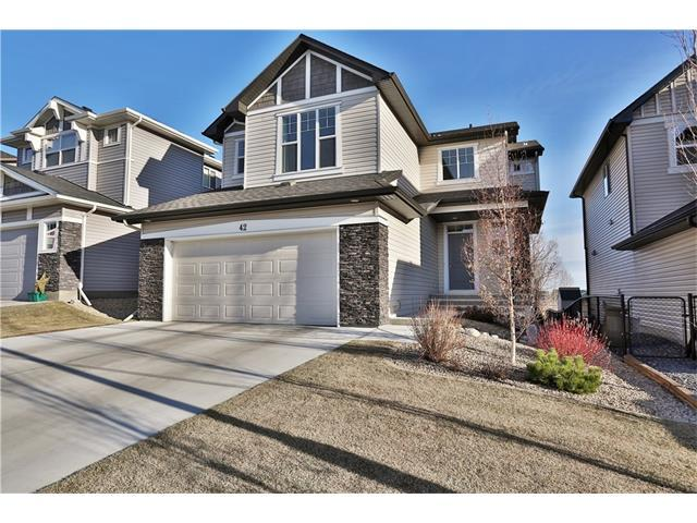 42 Drake Landing Heights, Okotoks, AB T1S 0L4 (#C4149126) :: Redline Real Estate Group Inc