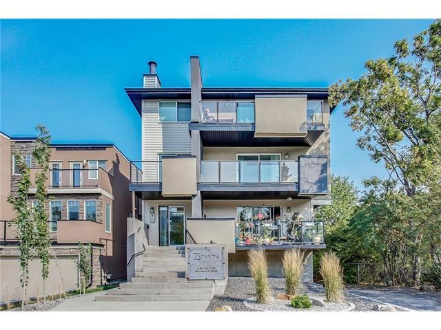1810 16 Street SW #201, Calgary, AB T2T 4E2 (#C4149134) :: Tonkinson Real Estate Team