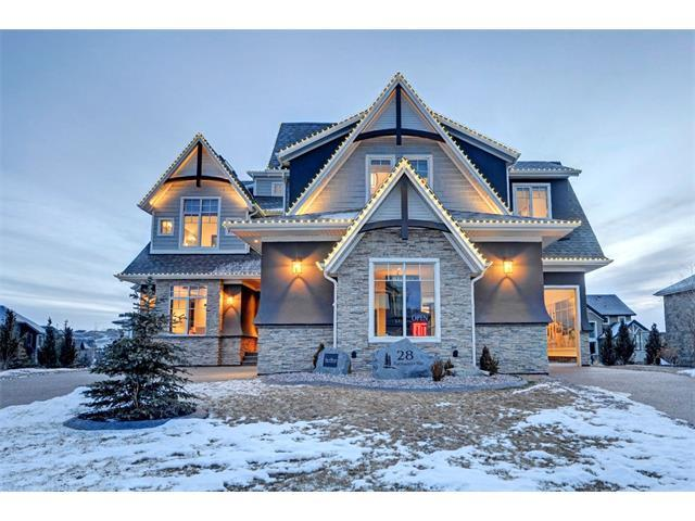 28 Rockwater Way, Rural Rocky View County, AB T3L 0C9 (#C4150176) :: Canmore & Banff