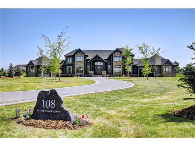 108 Swift Creek Cove, Rural Rocky View County, AB T3Z 0B6 (#C4160763) :: The Cliff Stevenson Group