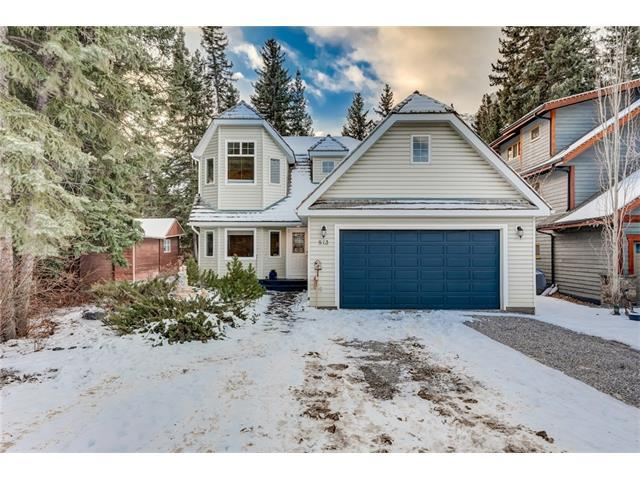 813 3rd Street, Canmore, AB T1W 2J2 (#C4161156) :: Canmore & Banff
