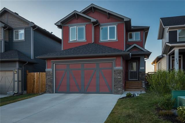 222 Fireside Place, Cochrane, AB T4C 0R6 (#C4161509) :: Tonkinson Real Estate Team