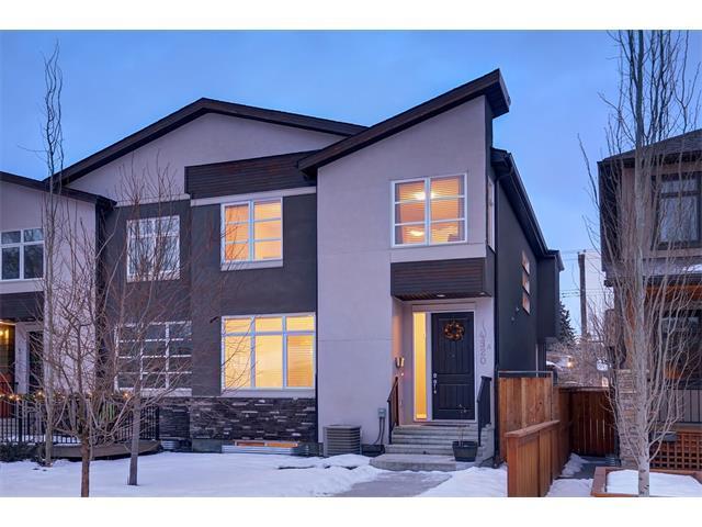 4520A 17 Avenue NW, Calgary, AB T3B 0P1 (#C4161516) :: The Cliff Stevenson Group