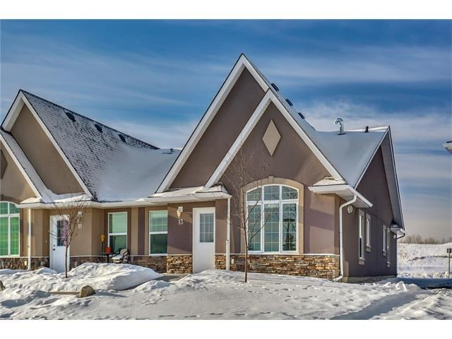 24 River Heights View #13, Cochrane, AB T4C 0M9 (#C4162129) :: The Cliff Stevenson Group
