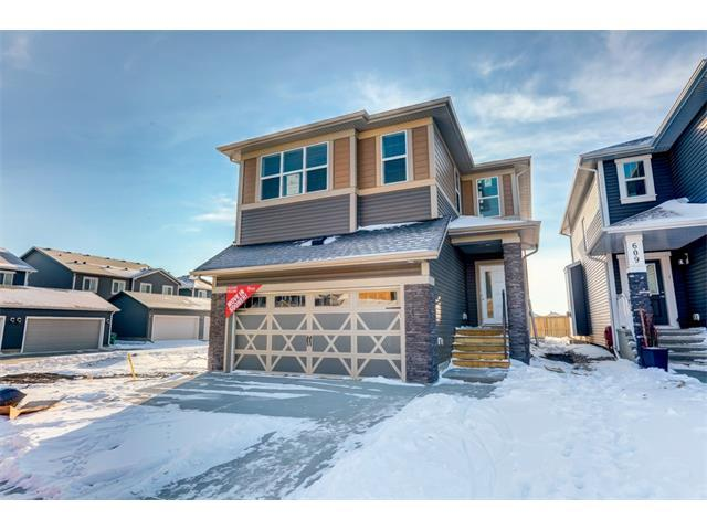 605 Midtown Place SW, Airdrie, AB T4B 4E3 (#C4162550) :: Canmore & Banff