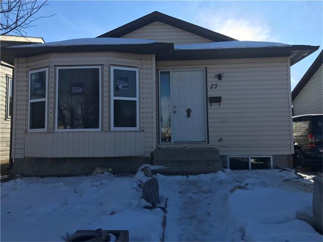 27 Whitworth Road NE, Calgary, AB T1Y 6C9 (#C4163278) :: The Cliff Stevenson Group