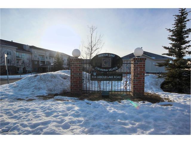 928 Arbour Lake Road NW #1101, Calgary, AB T3G 5T2 (#C4163568) :: The Cliff Stevenson Group