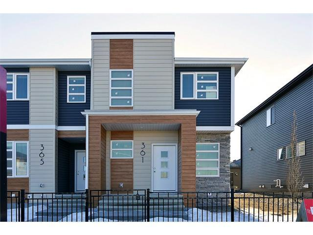 361 Midtown Gate SW, Airdrie, AB T4B 4C9 (#C4163621) :: Canmore & Banff