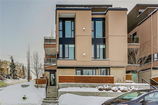 2905 16 Street SW #103, Calgary, AB T2T 4G5 (#C4163850) :: The Cliff Stevenson Group