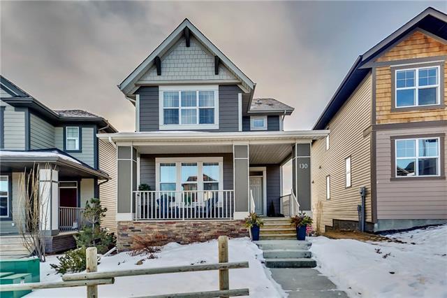 130 Heritage Drive, Cochrane, AB T4C 0Y3 (#C4164099) :: Redline Real Estate Group Inc