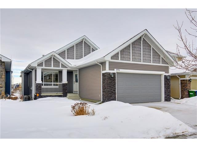 991 Bayside Drive SW, Airdrie, AB T4B 3E4 (#C4164167) :: Redline Real Estate Group Inc