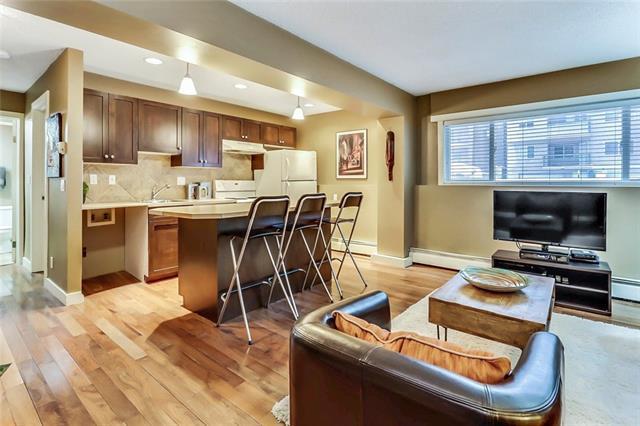 1836 12 Avenue SW #102, Calgary, AB T3C 0R6 (#C4164215) :: Redline Real Estate Group Inc