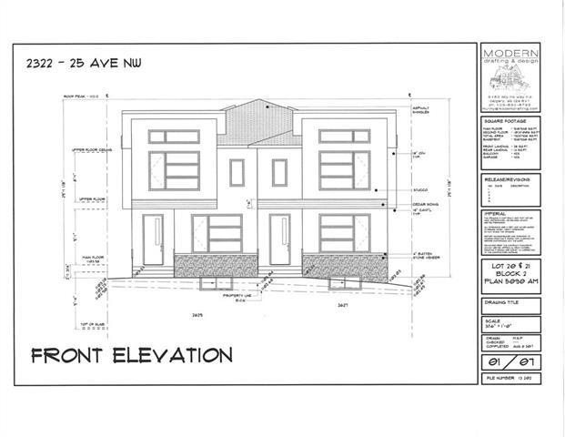 2322 25 Avenue NW, Calgary, AB T2M 2C3 (#C4164309) :: The Cliff Stevenson Group