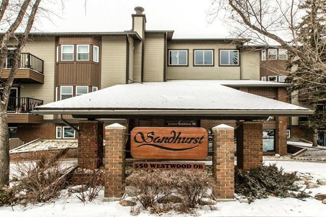 550 Westwood Drive SW #403, Calgary, AB T3C 3T9 (#C4164370) :: The Cliff Stevenson Group